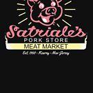 Satriale - Red Piggy Logo von Candywrap Design