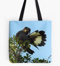 Yellow-tailed Black Cockatoo Tote Bag