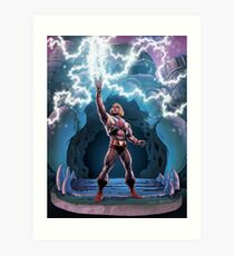 Most Powerful Man in the Universe transforming Art Print