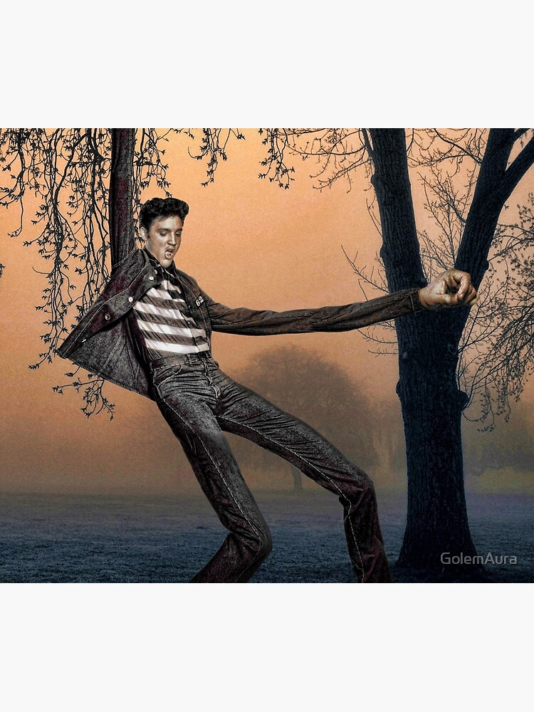Slender Man Elvis by GolemAura