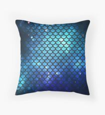 Mermaid Tail Throw Pillow