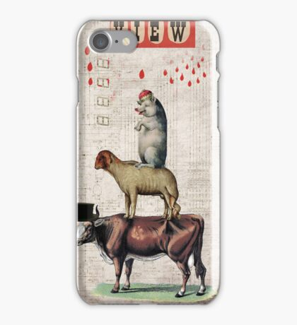 Animal Collection by Elo -- Together iPhone Case/Skin