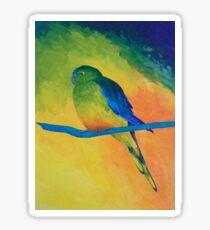 Orange-bellied Parrot Sticker