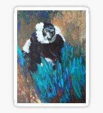 Primate Of The Madagascan Rainforest Sticker