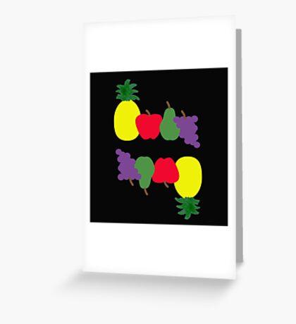 Tutti Frutti Flip Fun Greeting Card