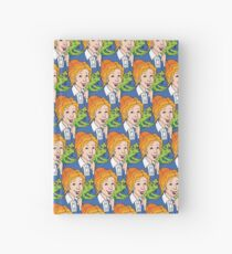 Frizzle Pattern Hardcover Journal