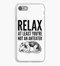 Fingal says Relax iPhone Case/Skin