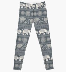 Pattern Elephant and mandala Leggings