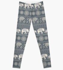Pattern Elephant and mandala Leggings