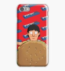 Gene Belcher Keyboard Pattern Red iPhone Case/Skin
