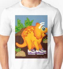 Yellow Dinosaur Unisex T-Shirt