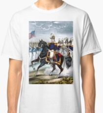 General Taylor and staff - the heroes of Palo Alto - 1847 - Currier & Ives Classic T-Shirt