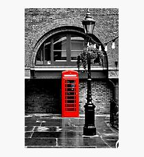 London red phone box  Photographic Print