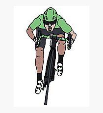 "Mark Cavendish  -  ""Le Maillot Vert"" Photographic Print"