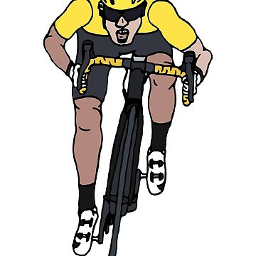 """Mark Cavendish  -  """"Le Maillot Jaune"""" by Number14"""