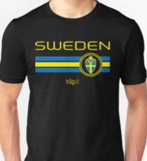 Euro 2016 Football - Sweden (Away Black) T-Shirt