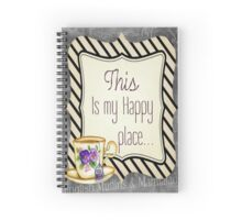 This Is My Happy Place Spiral Notebook