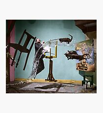 Dali Atomicus - by Philippe Halsman - colored Photographic Print