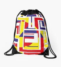 Tribal Constructivist - Marquesas Drawstring Bag
