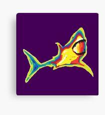 Heat Vision - Shark Canvas Print