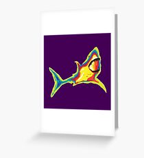 Heat Vision - Shark Greeting Card