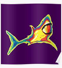 Heat Vision - Shark Poster