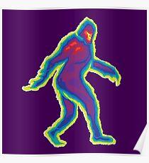 Heat Vision - Bigfoot Poster