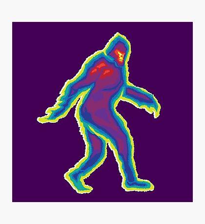 Heat Vision - Bigfoot Photographic Print