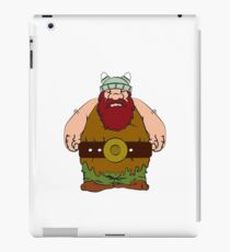 Wikinger - viking olaf iPad Case/Skin