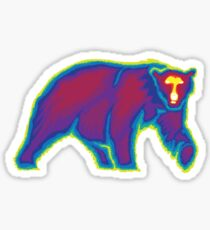 Heat Vision - Polar Bear Sticker
