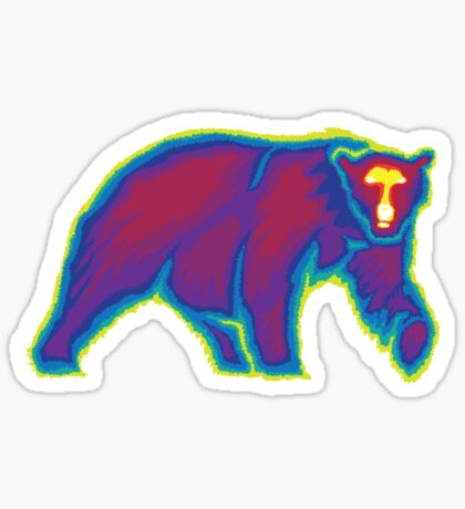 Heat Vision - Polar Bear Sticker