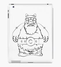 Wikinger, viking, olaf, iPad Case/Skin
