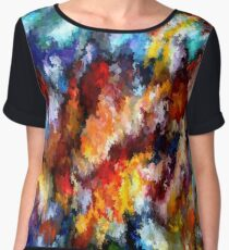 modern composition 06 by rafi talby Chiffon Top