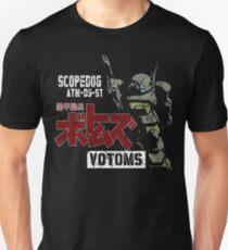 CLASSIC RETRO JAPAN ANIME MANGA ARMORED TROOPER VOTOMS SCOPEDOG ROBOT SOLDIER T-Shirt