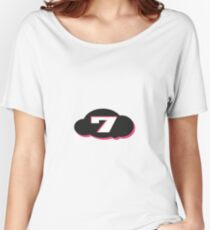 seven heaven Women's Relaxed Fit T-Shirt