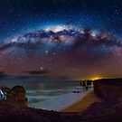 12 Apostles Milky Way by hangingpixels