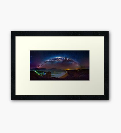 12 Apostles Milky Way Framed Print