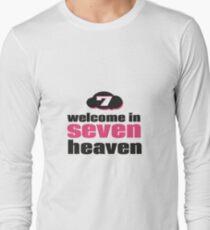 seven heaven cloud Long Sleeve T-Shirt
