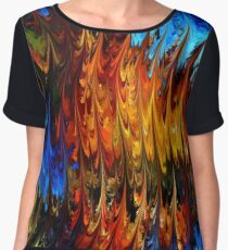 modern composition 18 by rafi talby Women's Chiffon Top