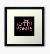 KITTY MOMMY Framed Print