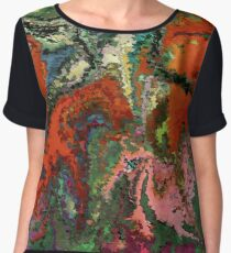 modern composition 22 by rafi talby Women's Chiffon Top