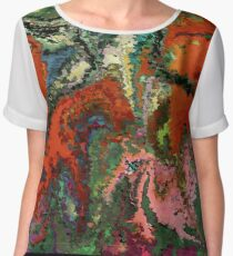 modern composition 22 by rafi talby Chiffon Top