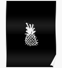Ink Pineapple Poster