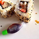 Sushi by BevsDigitalArt