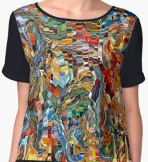 modern composition 29 by rafi talby Women's Chiffon Top
