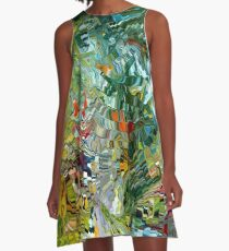 modern composition 31 by rafi talby A-Line Dress