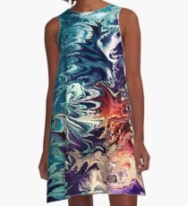 modern composition 32 by rafi talby A-Line Dress