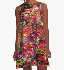 modern composition 34 by rafi talby A-Line Dress