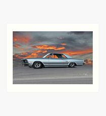 1963 Buick Riviera 'Sunset Strip' Art Print