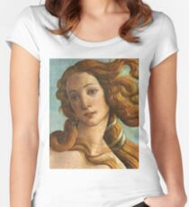 Venus - Sandro Botticelli Women's Fitted Scoop T-Shirt